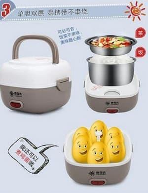 TERLARIS Lunch box Elektrik Takeida/ Rice cooker/ magic com mini - hPLVdcDq