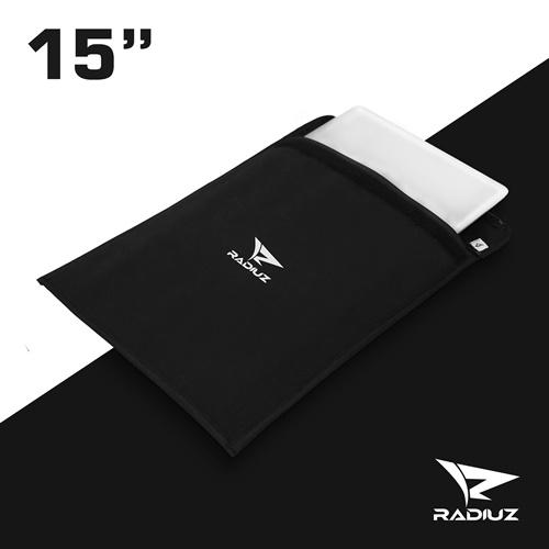 RADIUZ Sleeve Softcase Tas Laptop 15 - 15,6 Waterproof Tahan Anti Air Hitam Black