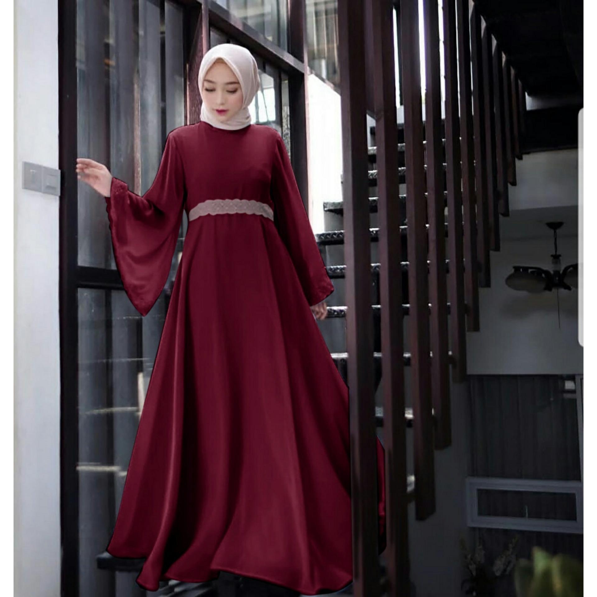trendshopee Pakaian Muslim Wanita Gamis Maxy Oraida