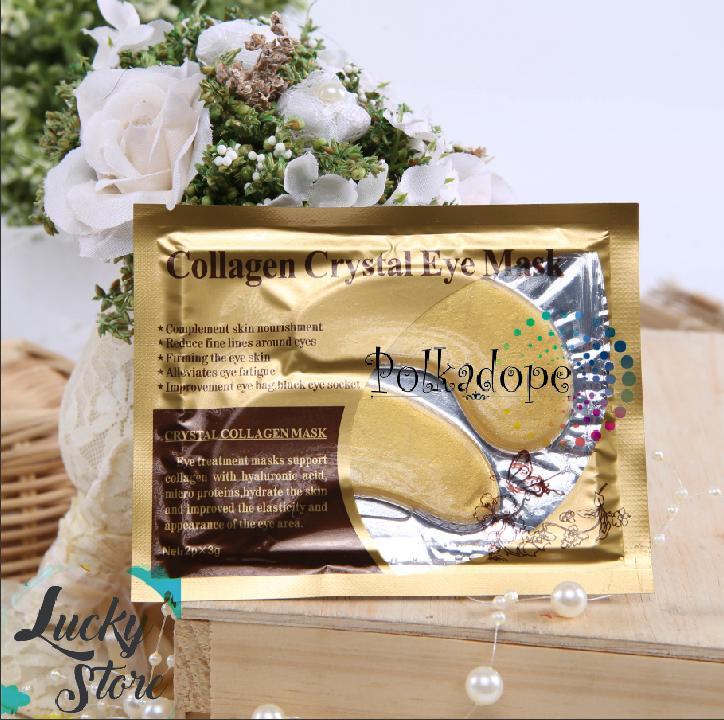 Rp 17.600. Collagen Crystal Eye Mask - Masker Mata Solusi Kantung Mata ...