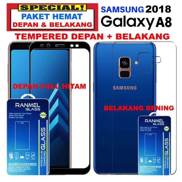 Illumishield Tempered Glass Sony Xperia Z1 Depan Belakang Front Back Bening Clear;