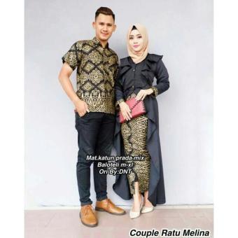 "Price Checker Baju Batik Couple / Baju Batik Sarimbit / Baju Kondangan ""Ratu Melina"""