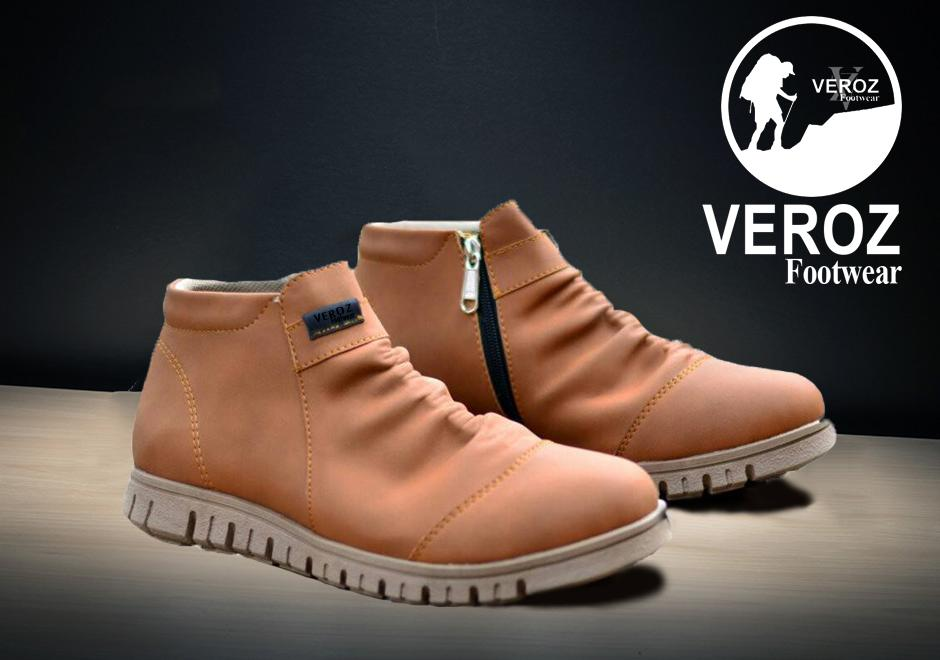 Rp250.000Sepatu Casual Boots Slip On Slop And Loafers Resleting Veroz  Formal Santai Hunting Bikers Non Safety 5e44a3161d