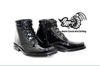 Sepatu PDH TNI Bertali resleting termurah - Giffari Store c5ee9d4e87