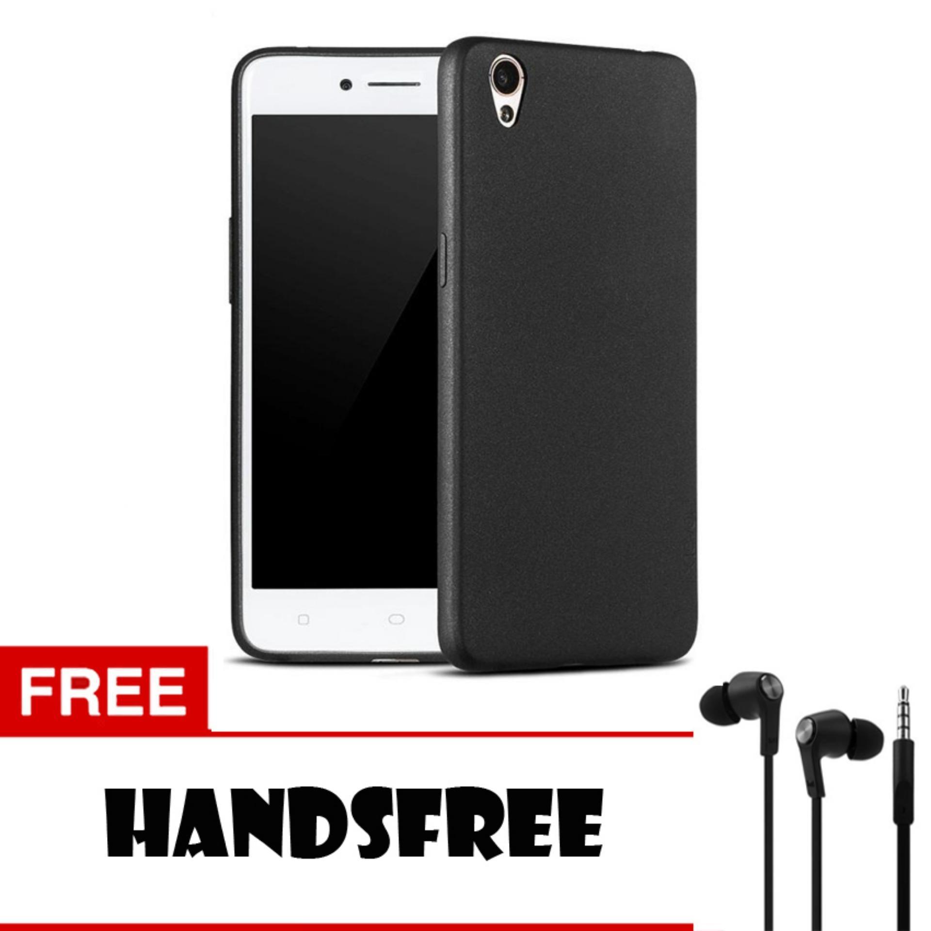 ... Case Slim Black Matte Oppo R9 F1 Plus Baby Skin Softcase Ultra Thin Jelly Silikon