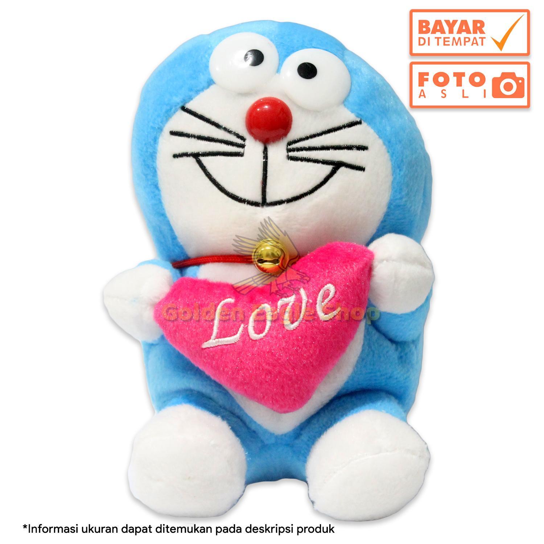 Boneka Doraemon Sedang 17cm Lucu dan Imut Murah