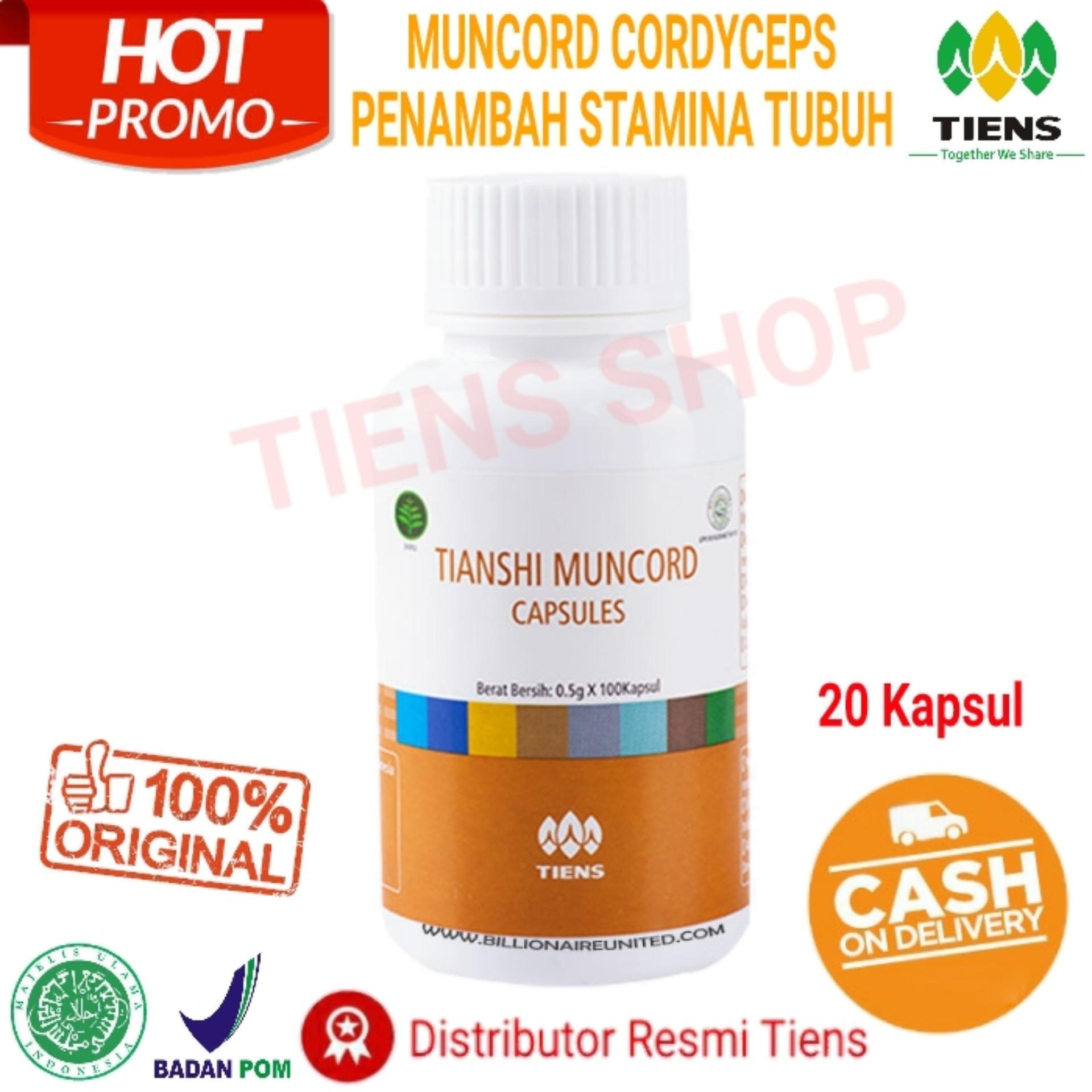 Zinc Capsules Original Tianshi 1 Botol Isi 30 Kapsul Promo Daftar Tiens Shop Penambah Stamina Muncord Cordyceps Capsule