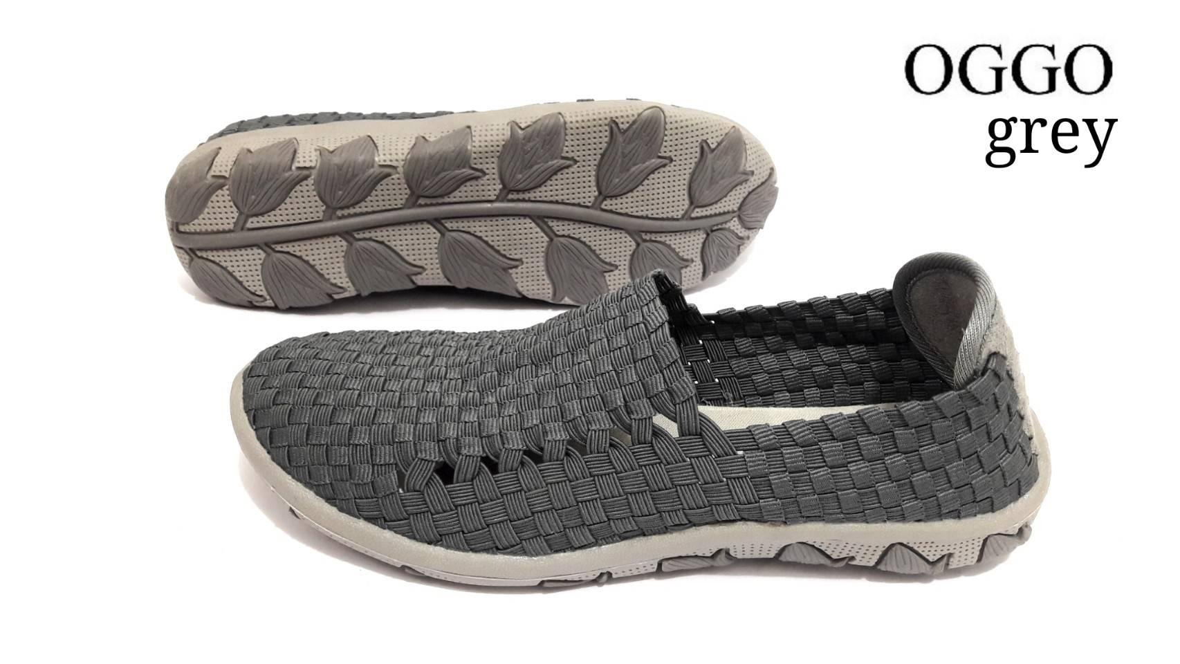 Sepatu Slip On Santai Anyaman Wanita Oggo   Sepatu SLop   Sepatu Rajutan    Sepatu Rajutan 84c34f1f33