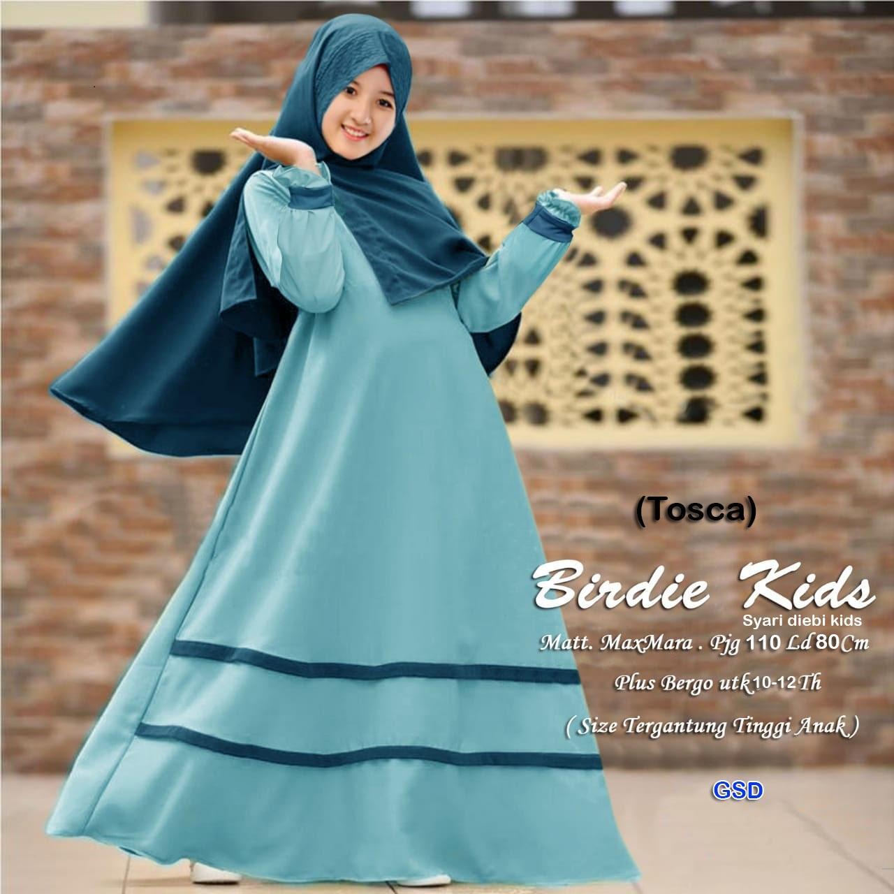 baju muslim anak tanggung / fashio muslim / baju muslim anak / dress anak / maxi
