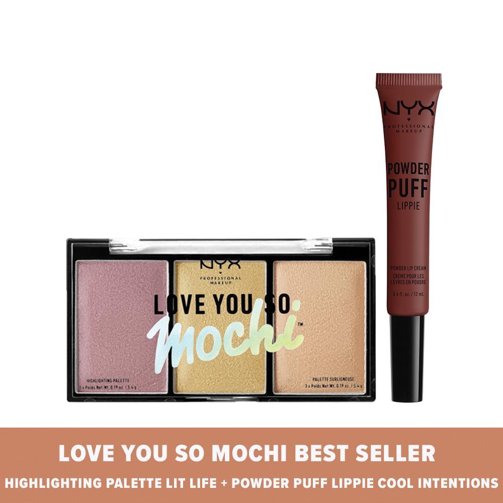 Al-Mabruroh Madu Penggemuk Badan - 2Pcs. Source · NYX Professional Makeup Love You So Mochi Best Seller : Hihglighting Palette Lit Life and Powder