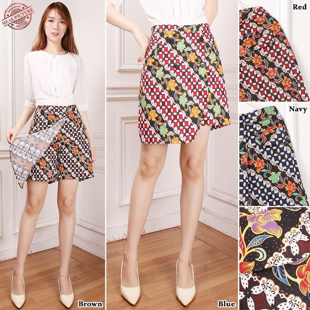 Miracle Rok Celana Afkana Celana Pendek Wanita All Size Tersedia 4 Warna
