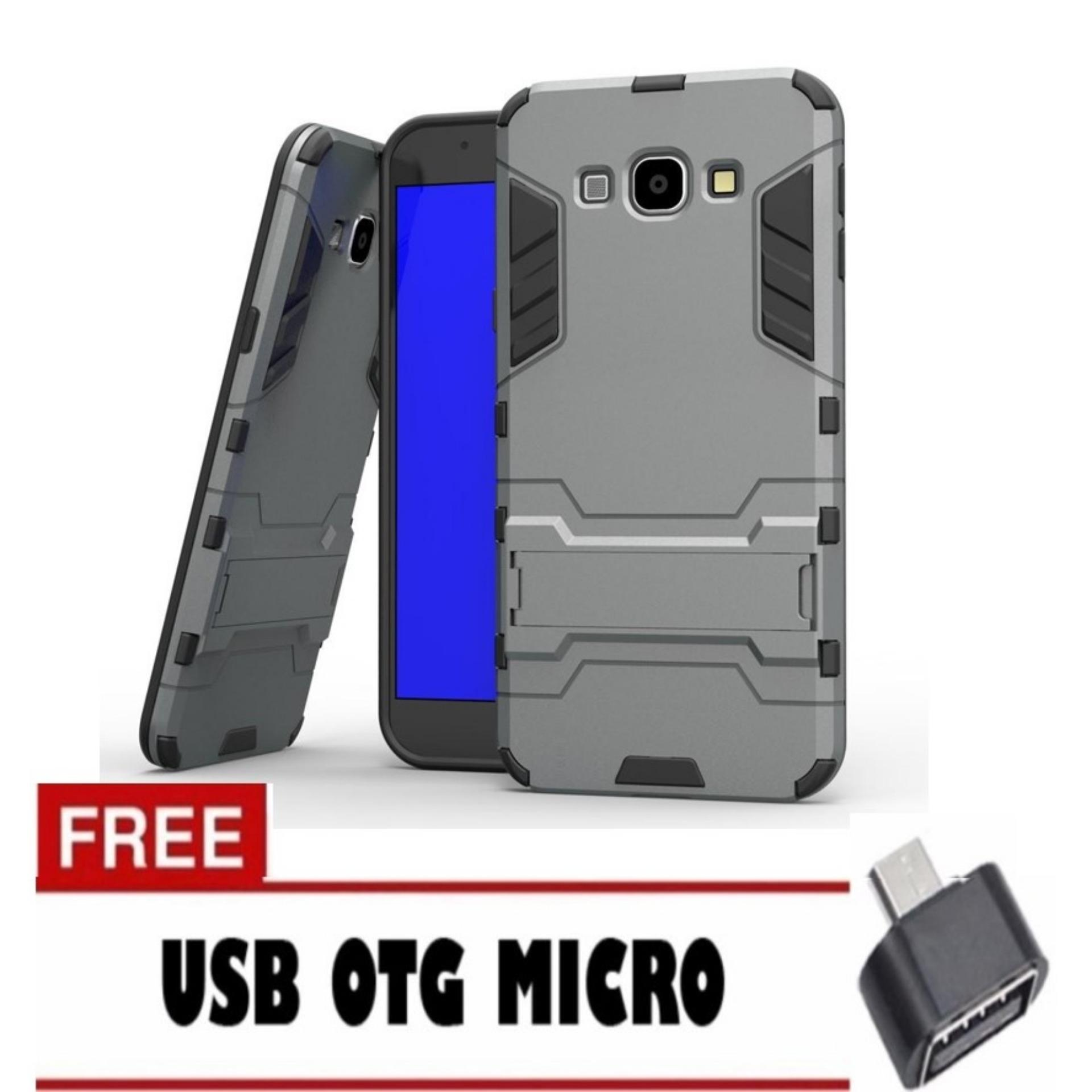 Case Mnc Samsung Galaxy A7 2017 Sm A720 Transformer Robot Casing Source · MNC I CASE EXECUTIVE IRON MAN 2 IN 1 ROBOT WITH STAND FOR SAMSUNG GALAXY J2