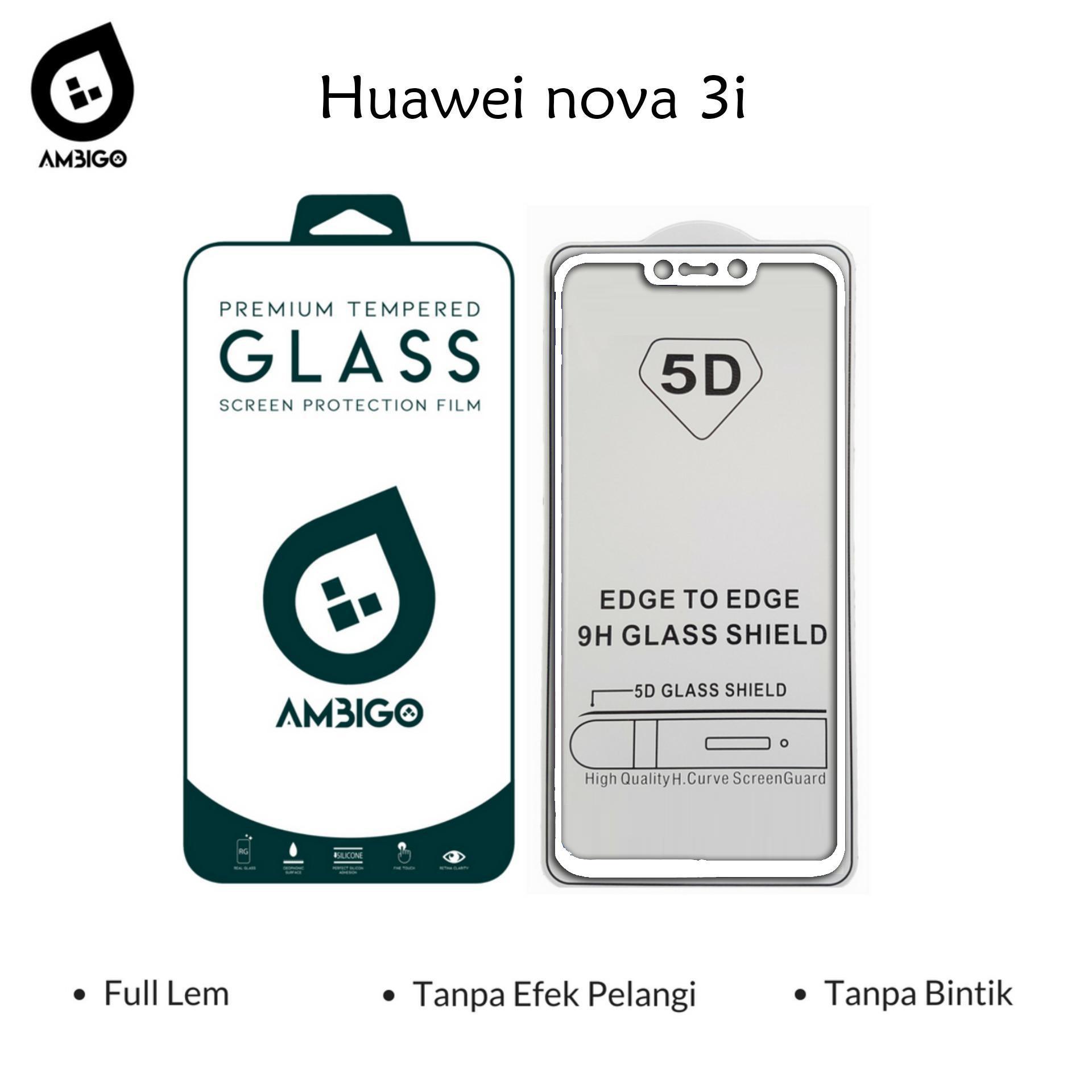 Buy Sell Cheapest Baru 3d Lem Best Quality Product Deals Jbs Nails Kuku Palsu Wedding A39 Tempered Glass 5d Full Cover Warna Anti Gores Kaca Untuk Huawei Nova 3i