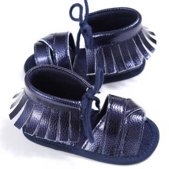 Rumbai sepatu belajar jalan Sepatu bayi sepatu bersol lembut MWT1