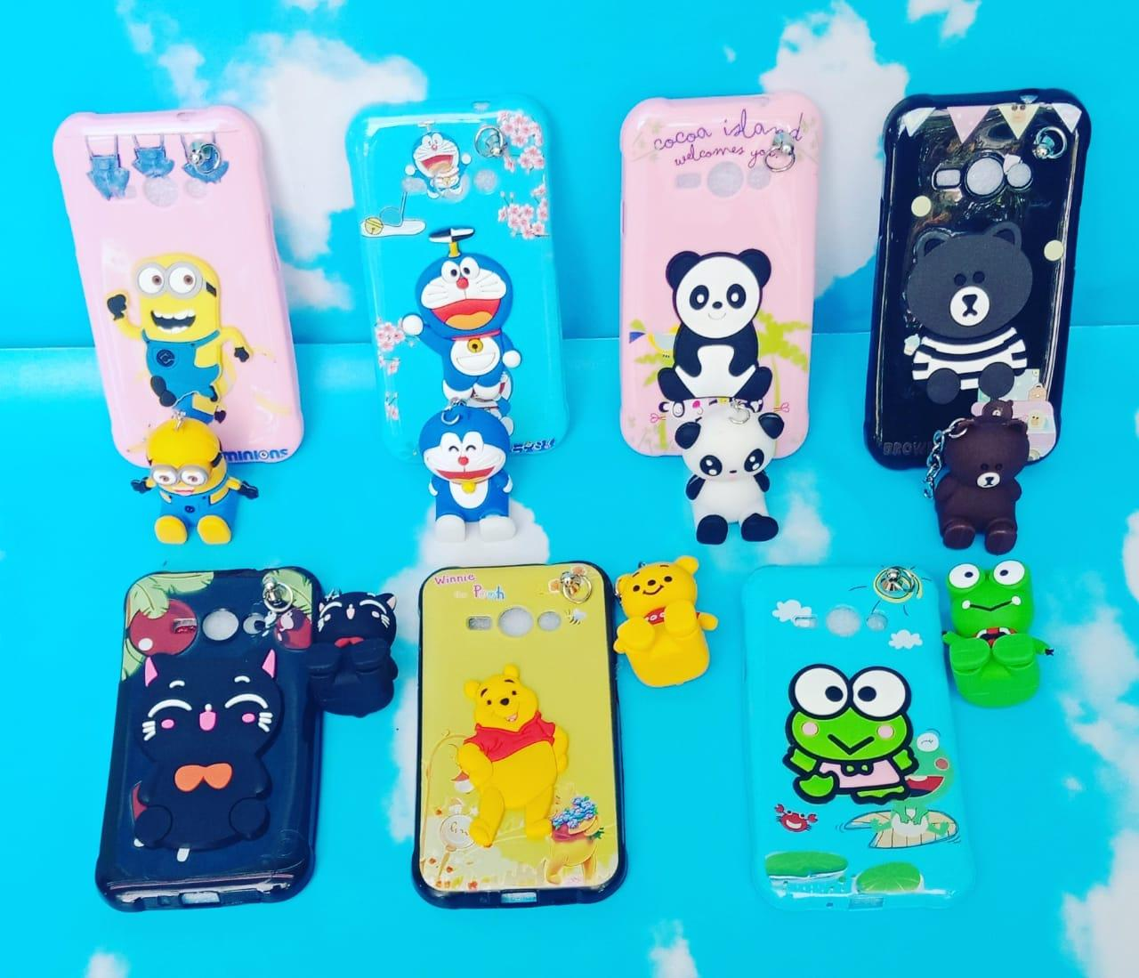 Case Softcase Karakter Samsung Galaxy J1 Ace Plus Gantungan Pm2902 Lazada Indonesia