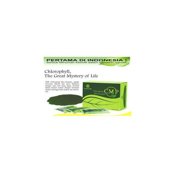 DNA Chlorophyll Mint Powder Original 100% 30 sachet