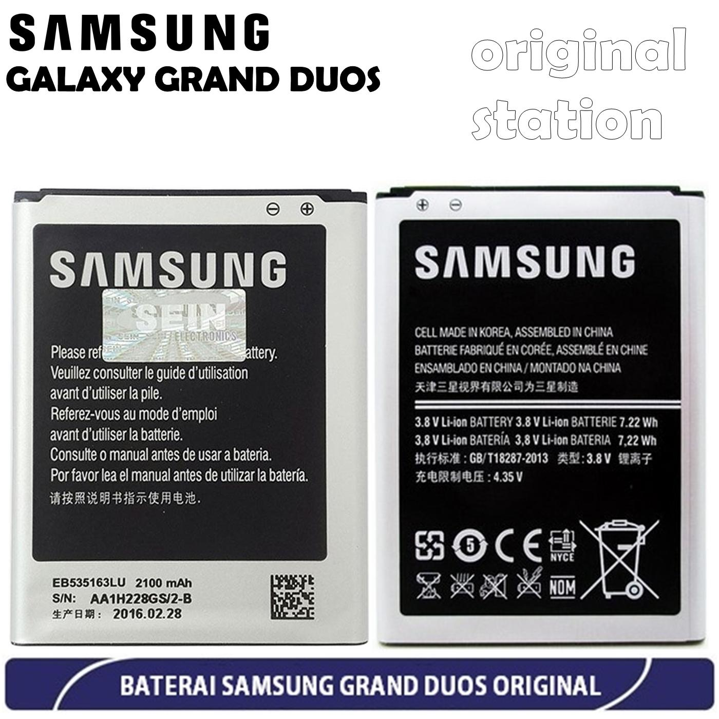 Samsung Galaxy Grand Duos I9082 Baterai Kapasitas 2100 mAh - Original | Lazada Indonesia