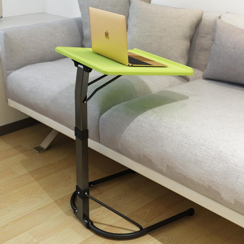 Simple Portable Easily Lift Laptop Computer Desk Mobile Height-Adjustable Multifunctional Movable Tables Home Office