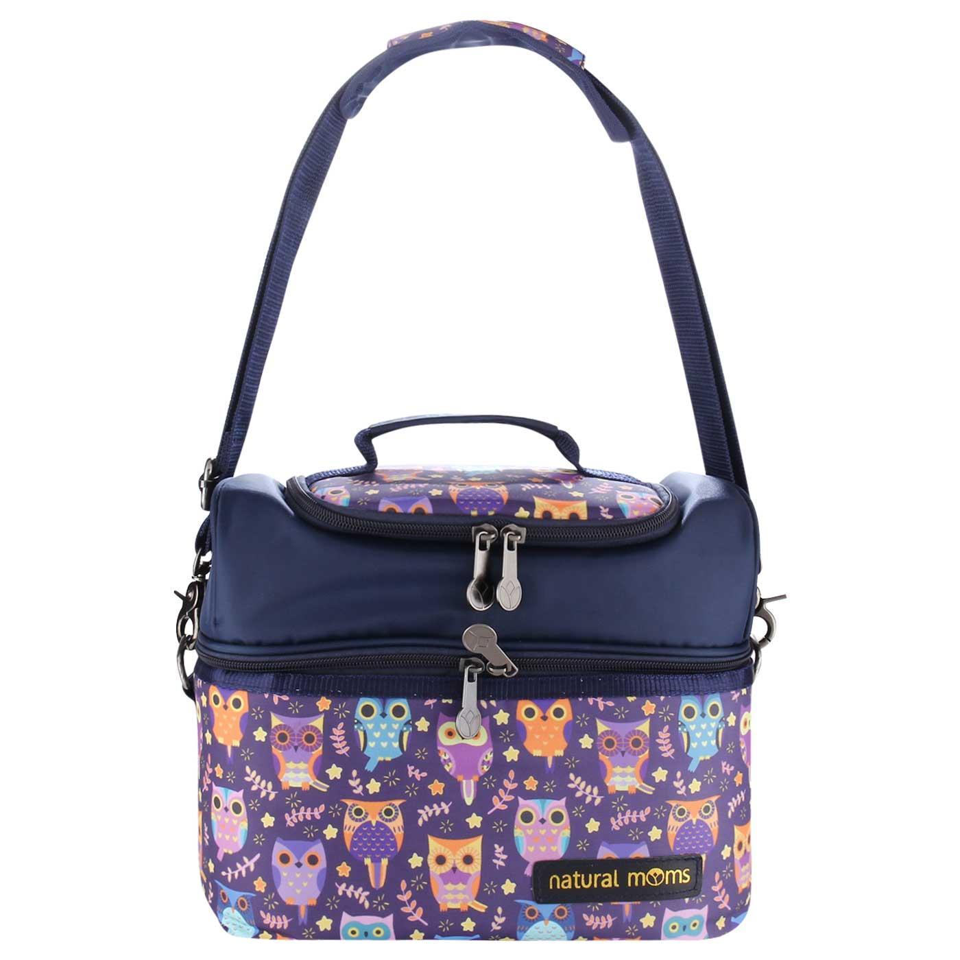 Natural Moms Cooler Bag/ Tas Pendingin Asi Ibu Menyusui - Sling Owl