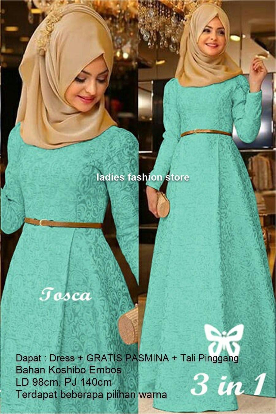 Gamis Remaja Polos Murah GRATIS PASMINA Dan BELT / Dress Pesta Gamis Model  Baru / Gamis Terbaru Modern / Dress Cewek Muslimah / Hijab Muslim / Muslim