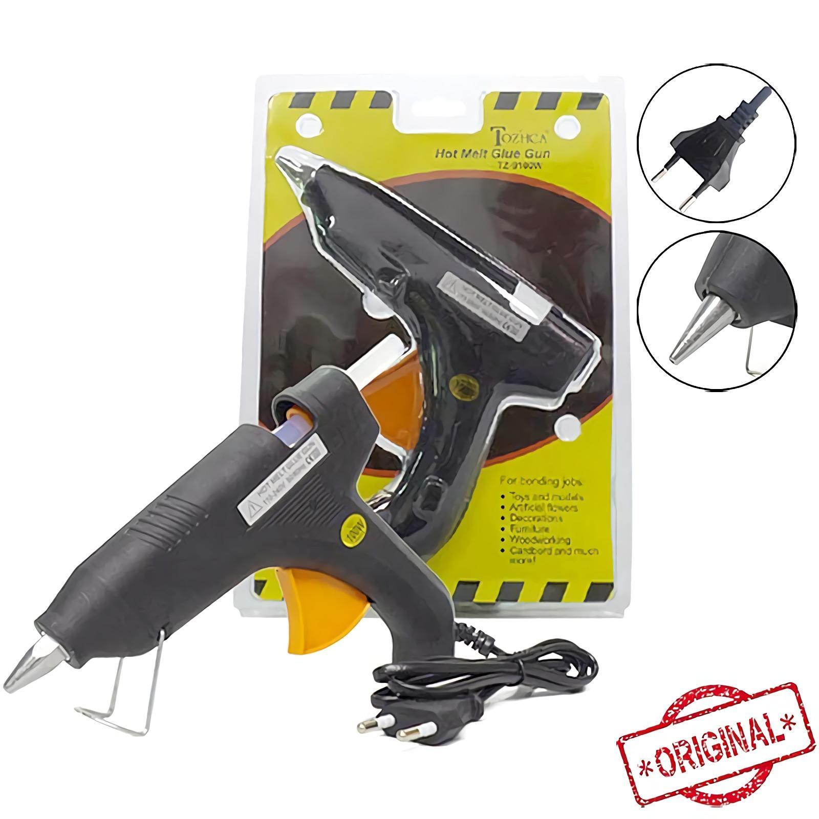 OHOME Alat Lem Tembak 100 Watt Glue Gun Set MS-TZ-9100W Hitam