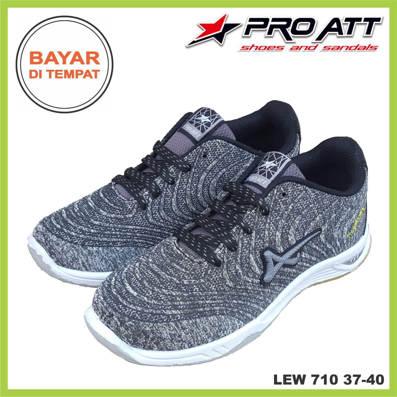 RAJASEPATU PRO ATT Sepatu Wanita Murah Sneaker Sport LEW 710 High Quality Sepatu Olahraga Outdoor