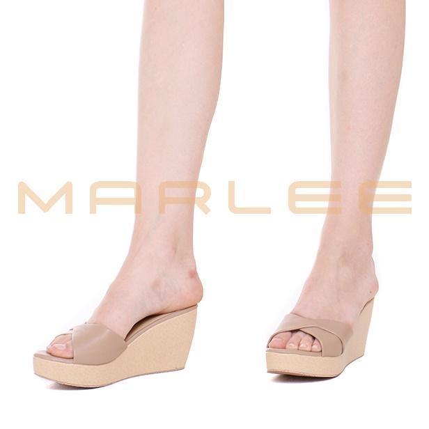 Marlee Sandal Wedges Wanita MK-09 Moca