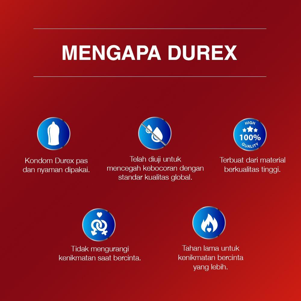 Durex Condom Fetherlite 12s Kondom Tipis Lazada Indonesia Isi 12