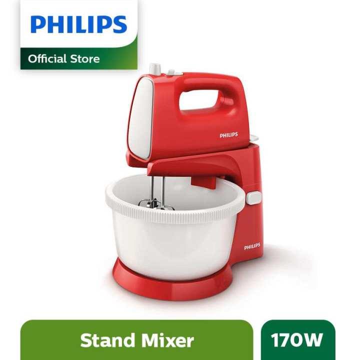 Philips Stand Mixer HR1559 - Merah | Lazada Indonesia