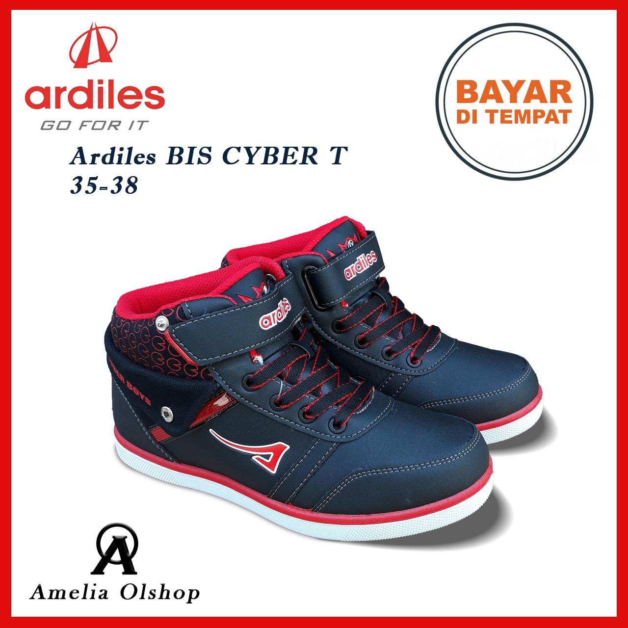 Amelia Olshop - Sepatu Sekolah Ardiles Cyber T 35-38 / Sepatu Sekolah Anak /