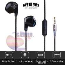 ... MSH 302 Universal 2 fungsi Earphone untuk Iphone dan Android Handsfree general untuk oppo / earphone