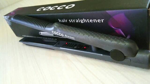 Catok Original 2in1 Alat Pelurus Rambut Catokan Cocco Catok Rambut Lurus Ikal Keriting Hair Straightener Plat