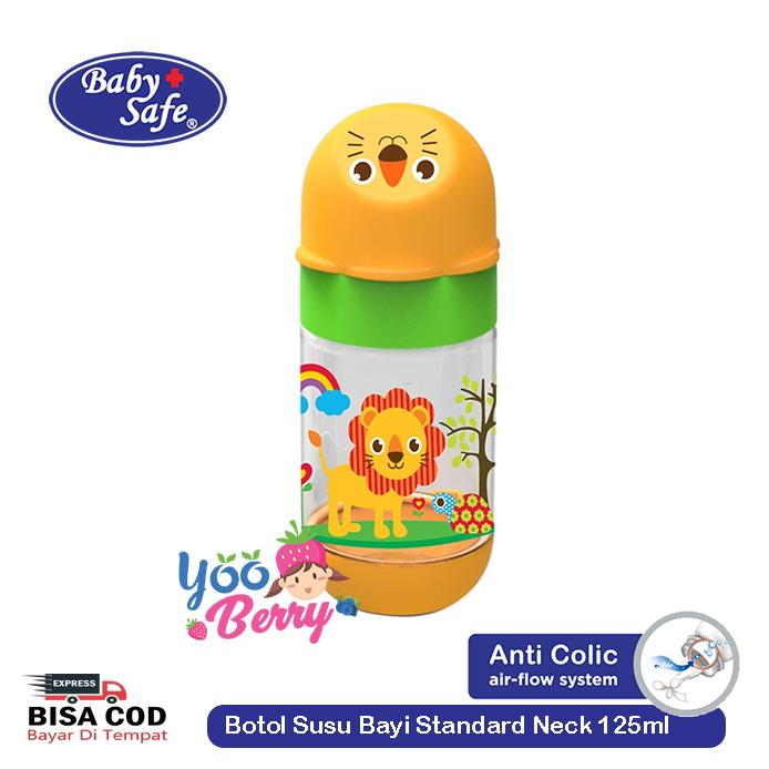 Baby Safe Lynea Botol Bayi Standard Neck 125 ml YooBerry