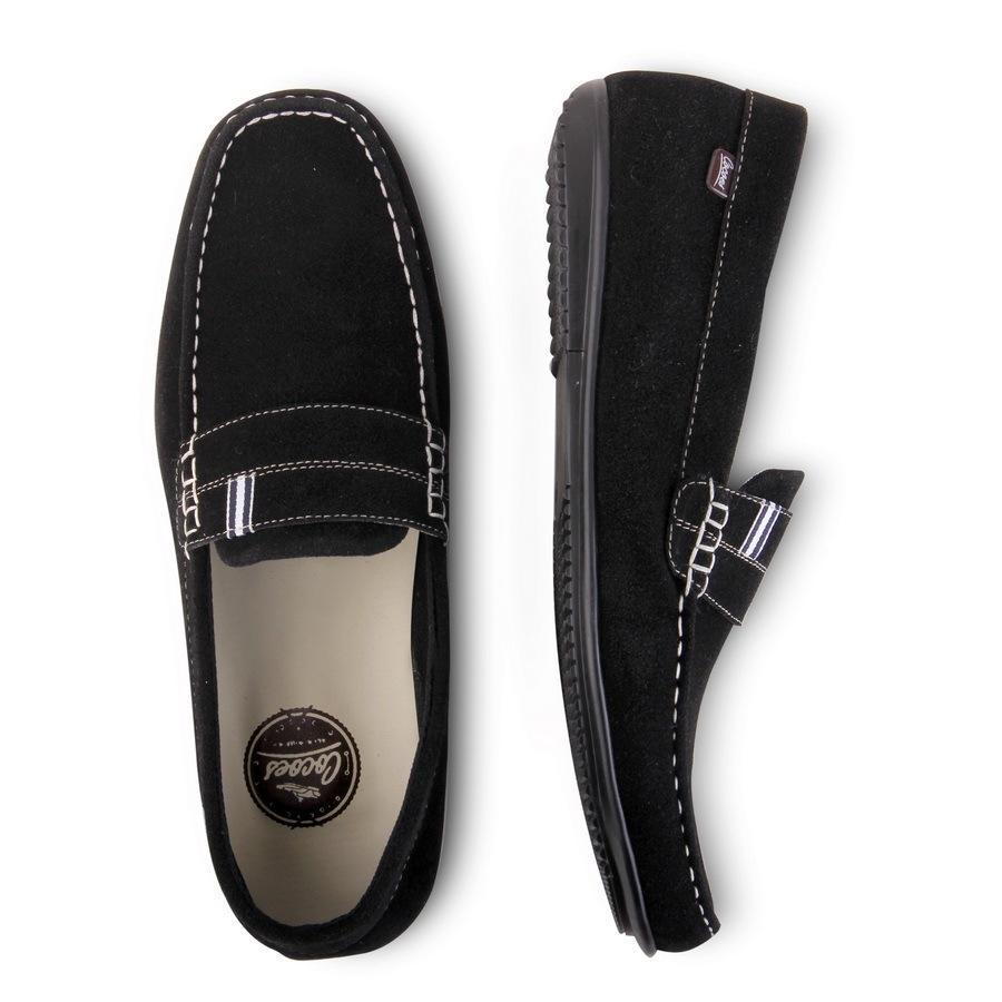 Sepatu SLIP ON CASUAL COCOES PRIA - sepatu formal pantofel HITAM Coklat  Navy OCEAN Cevany - 0d31b3fbe9