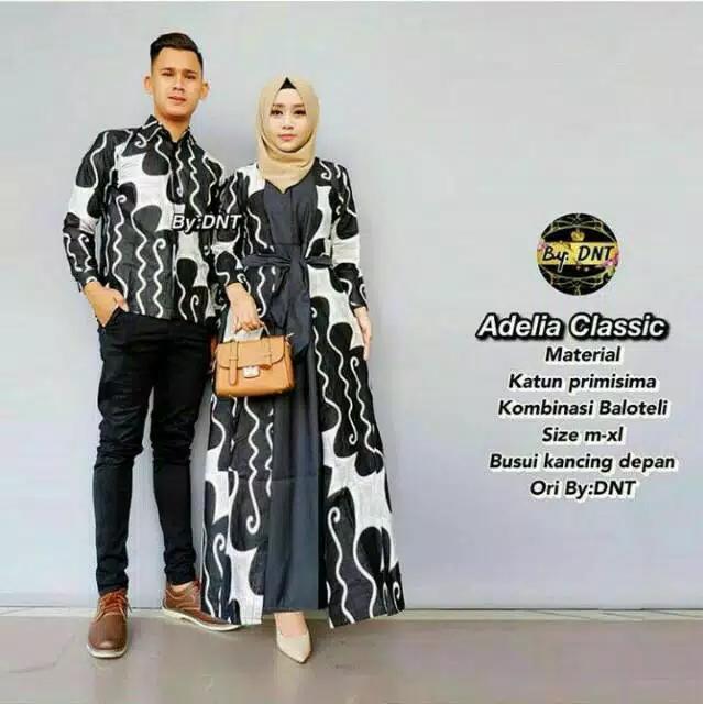 Rp190.000TERMURAH - Batik Couple / COUPLE BATIK / Baju Muslim Wanita Terbaru 2018 /