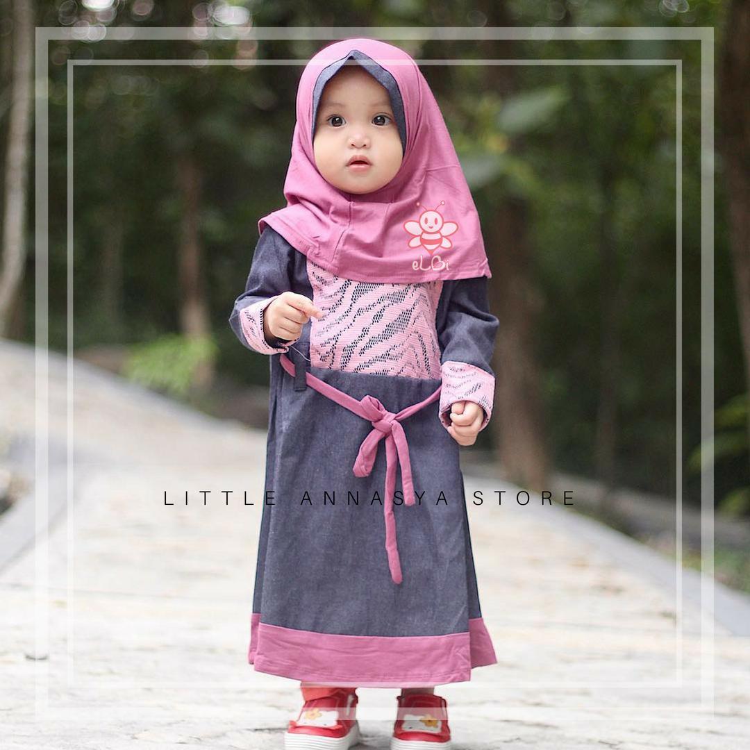 Harga Promo Elbi Baju Muslim Anak Perempuan Baju Muslim Balita