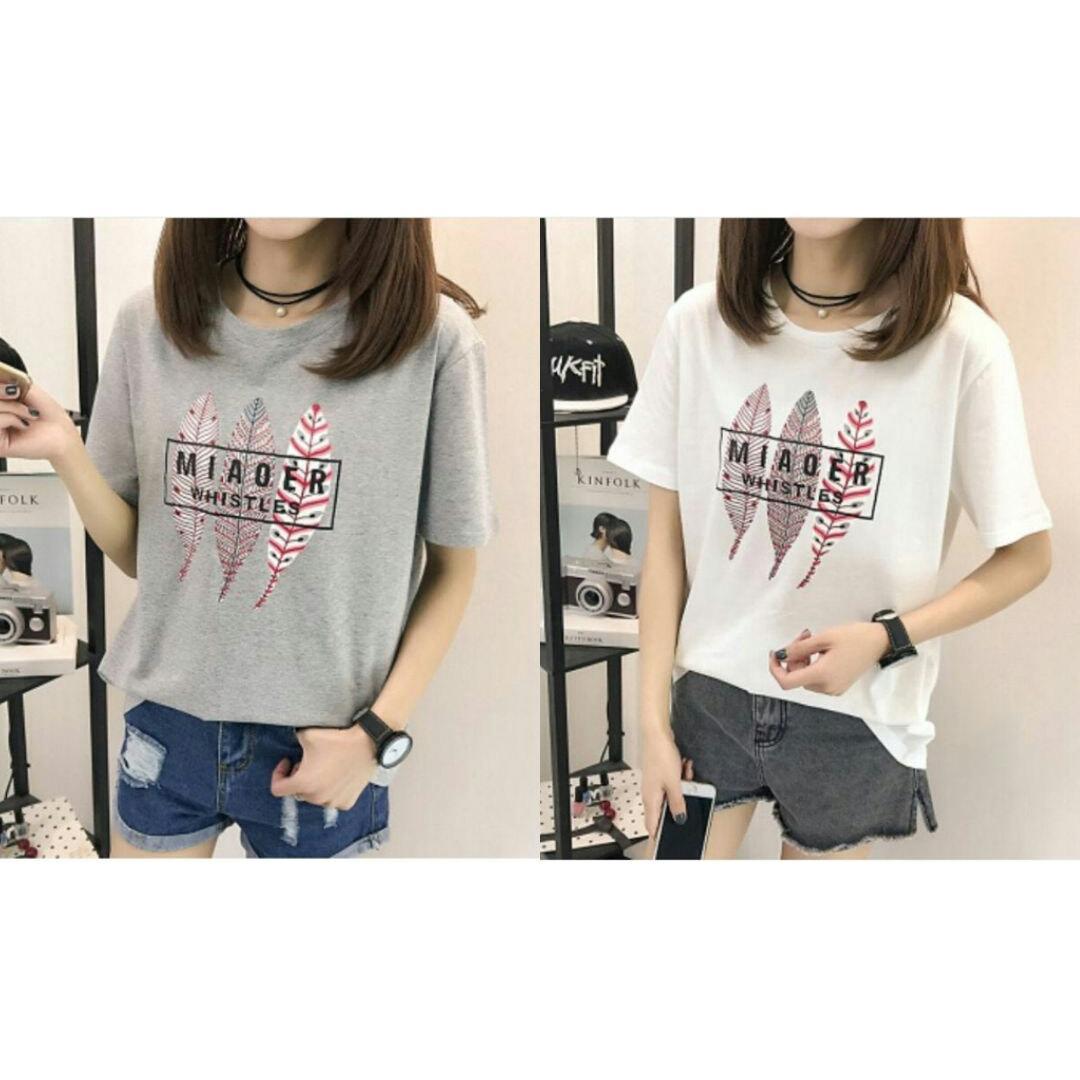 FJCO SFS - MIAOER TEE / T-shirt wanita / Fashion wanita