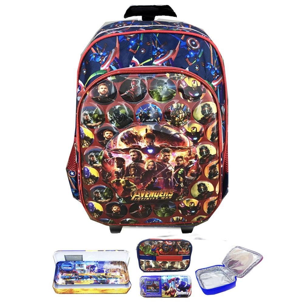 ... Lunch Bag ALuminium Tahan Panas - Full Motif Tayo. 175.000 · BGC Tas Troley Sekolah Anak SD Avenger Infinity War VS Thanos 5D Gambar Rubah2 IMPORT +