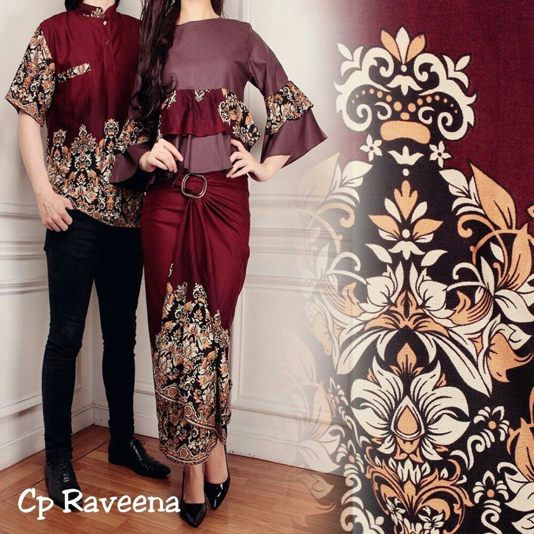 Toko Atasan Wanita Batik Wanita Couple Rina / Kemeja Pria Gamis Muslim / Kebaya Dress Wanita