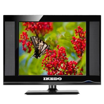 "TV Monitor LED IKEDO 17"" LT-17L2U - Hitam - USB Movie - HDMI - VGA - AV"