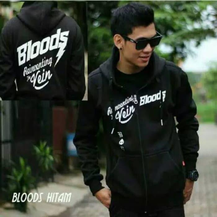 Bloods jacket black   Outerwear   Jaket   Jaket Pria   Jaket Kekinian   Jaket  Murah 656491f195