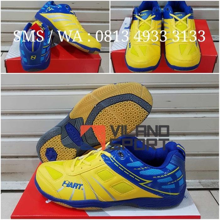 Sepatu Badminton Hart HS 703 Yellow - pz6Yu4