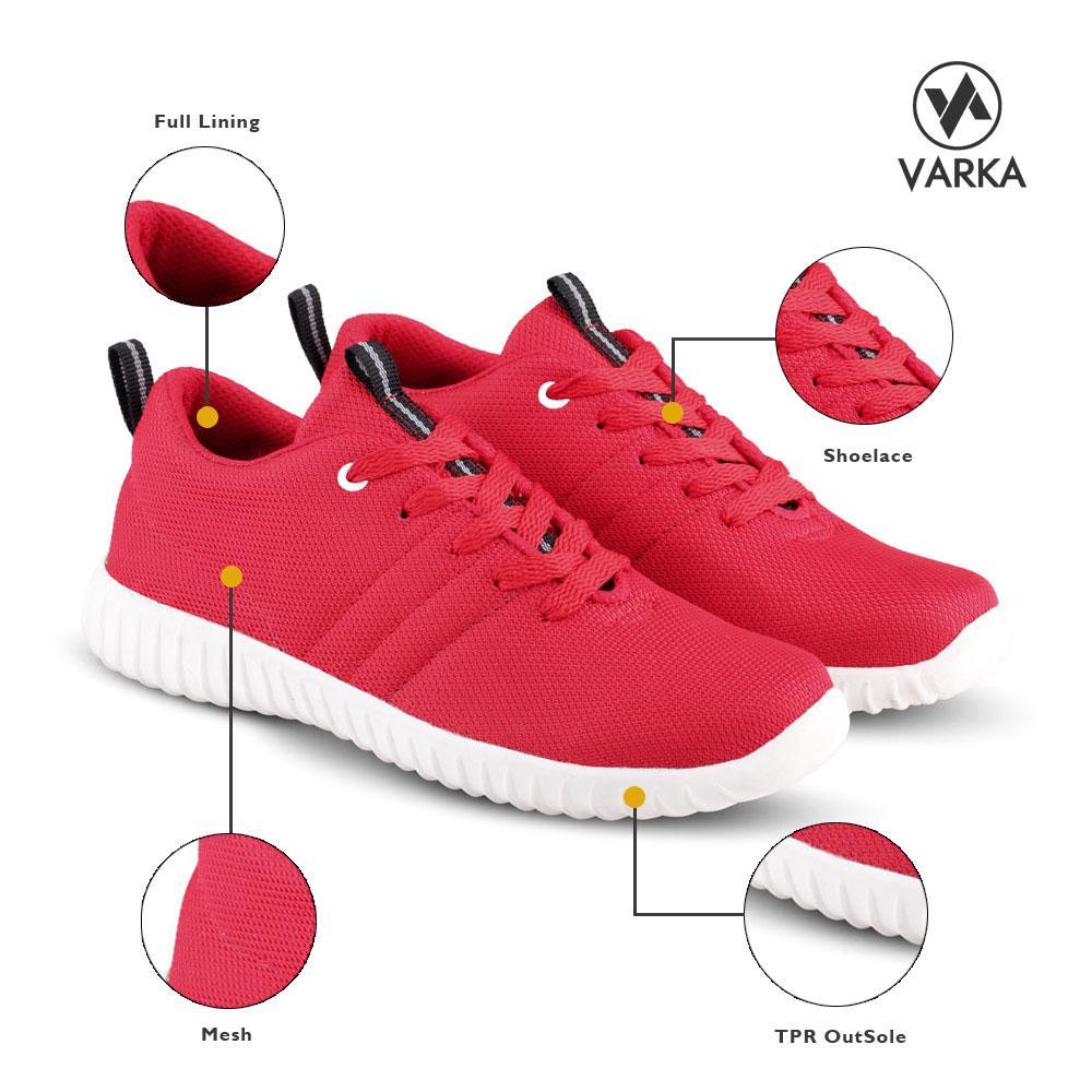 Varka Vr 117 Sepatu Sneaker Dan Olahraga Pria Spec Daftar V090 Casual Sneakers 366 Kets Kasual Merah Lazada Indonesia