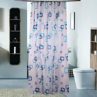 Prime Tirai Benang Cantik Motif Love 1 Pcs Hijau Tosca. Source · Shower Curtain /