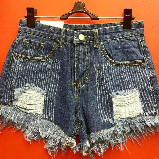 Hotpants Wanita 8808 Biru Tua