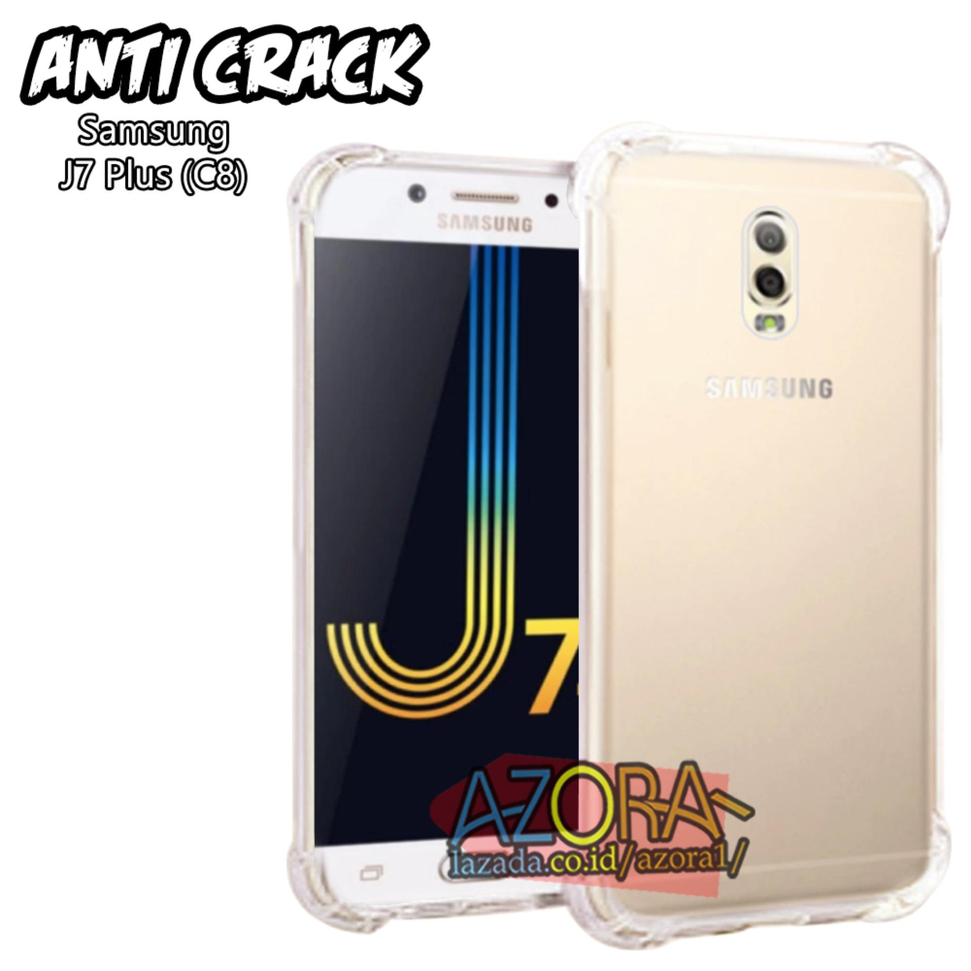 Ultrathin Fuze Anti Crack Case Samsung Galaxy C9 Pro Putih Daftar S8 Plus J7 C8 Ultra Thin Shock Jelly Silikon Shockproof Softcase