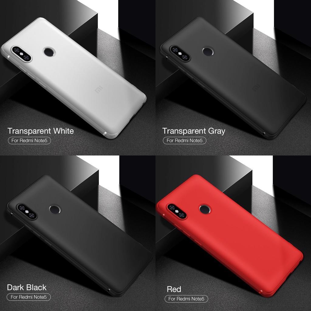 Fitur Original Cafele Redmi Note 5 Pro Case Tpu Softcase Silikon Xiaomi Ipaky Carbon Fiber Matte For Casing Tam 3