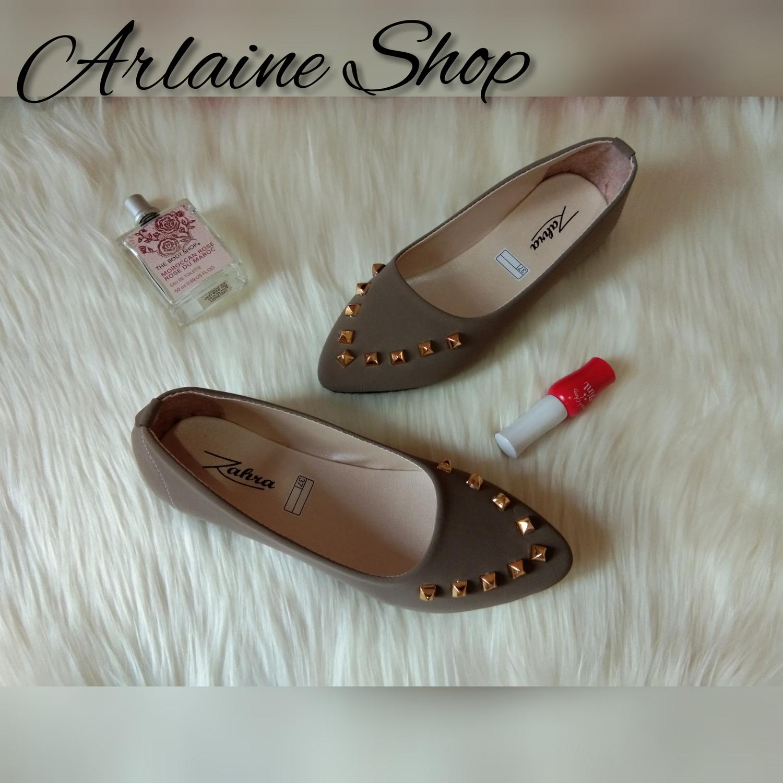 Arlaine Karina Flat Shoes