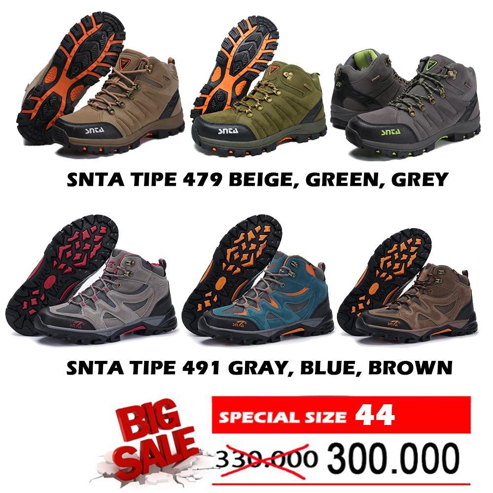 Sepatu Harga Terupdate 3 Jam Lalu Gunung Snta 471 Series Trekking Hiking Outdoor Big Promo 491 Ukuran 44 Kaki Size