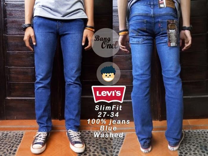 PROMO !! celana jeans strech karet premium
